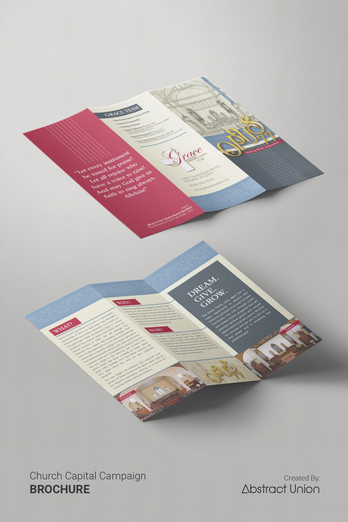 capital campaign brochures design ideas our client wanted a