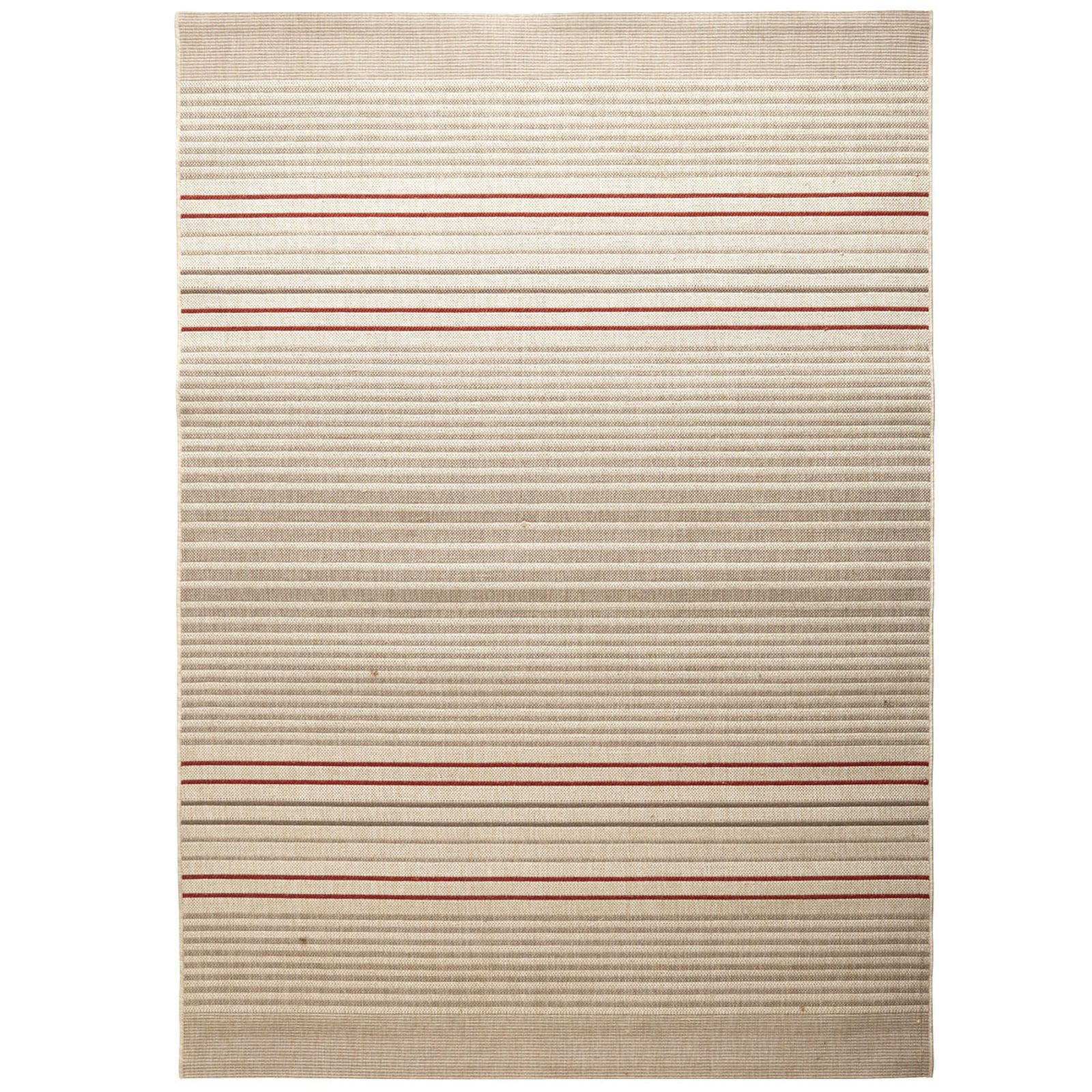 Experience comfort al fresco. Woven to resist the elements, including UV rays, this multi-stripe rug lends spicy colors and a energetic vibe whether inside or outside. Also appealing? It's low-maintenance. Just rinse with a garden hose to clean. Now that's an al fresco idea you'll only find at Pier 1.