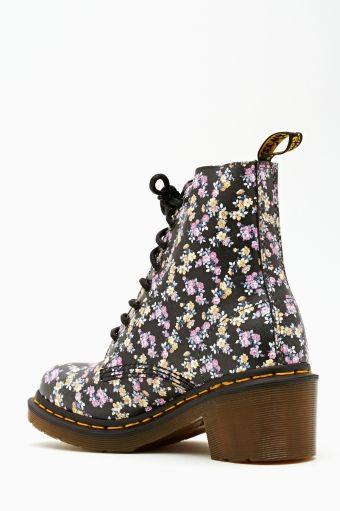Clemency 8 Eye Boot - Floral