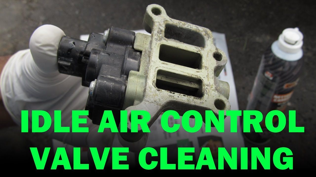 Honda Idle Air Control Valve, PCV and Throttle Body