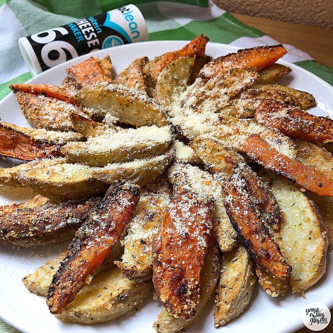 Patatas Y Boniato Al Horno Con Queso Boniatos Al Horno Boniato Boniato Receta