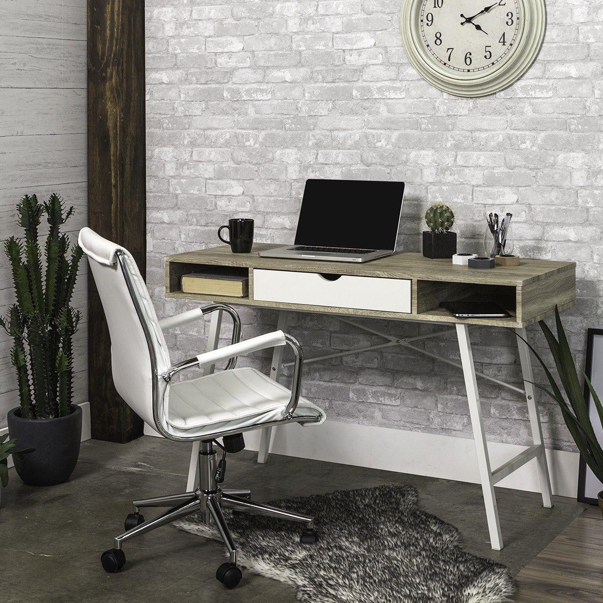 Desk Chair Jysk Wedding Ceremony Decorations Diy Abbetved White Deco Home Office Ja