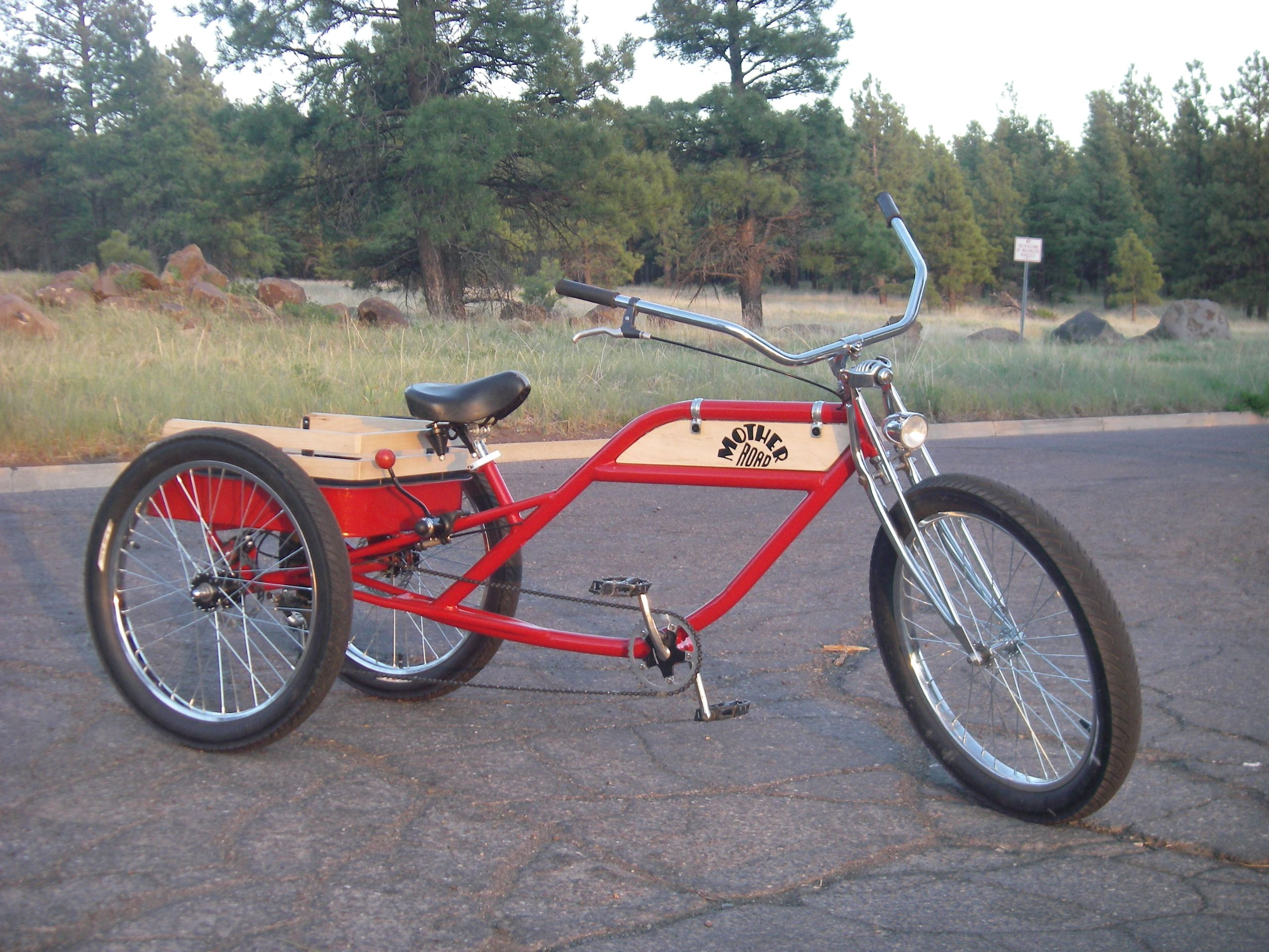 Little Red Express Trike by Wacko's Garage
