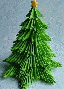 Albero Di Natale Origami.Origami Modulare Di Albero Di Natale E Capodanno Abete Origami Istruzioni Alberi Di Natale Natale Origami