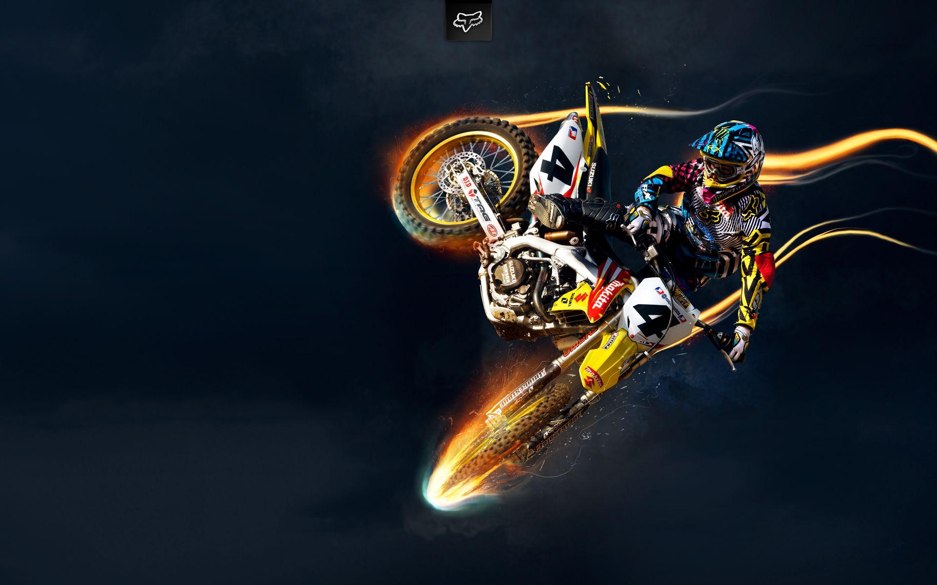 Ricky Carmichael Suzuki Motocross Motocross Cool Dirt Bikes