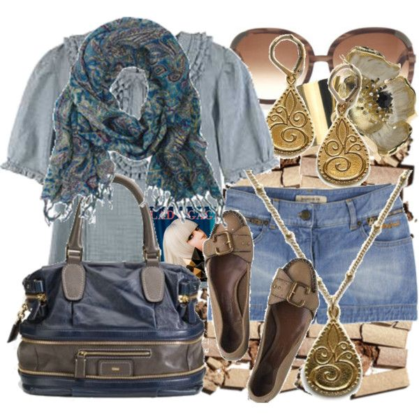 """New & Hot: Chloe """"Andy"""" Satchel, created by ladyjolie on Polyvore"""