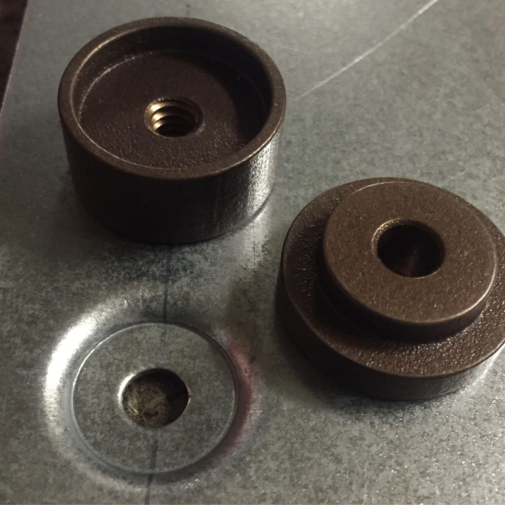 Flat Recess Dimple Die 1 4 20x 100 X3 4 Sheet Metal Tools Metal Bending Tools Garage Tools