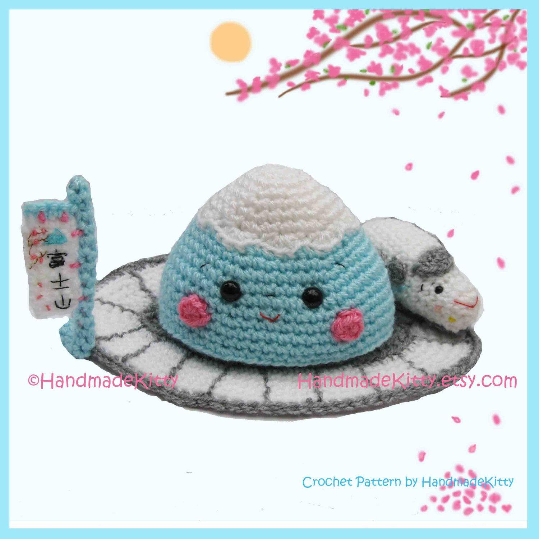 Fuji pdf mount fuji and shinkansen amigurumi pdf crochet by handmadekitty 5 99 mount fuji and shinkansen fandeluxe Gallery