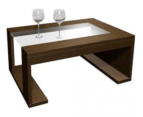 Modernas mesas de centro en madera mesas de centro en for Mesas modernas