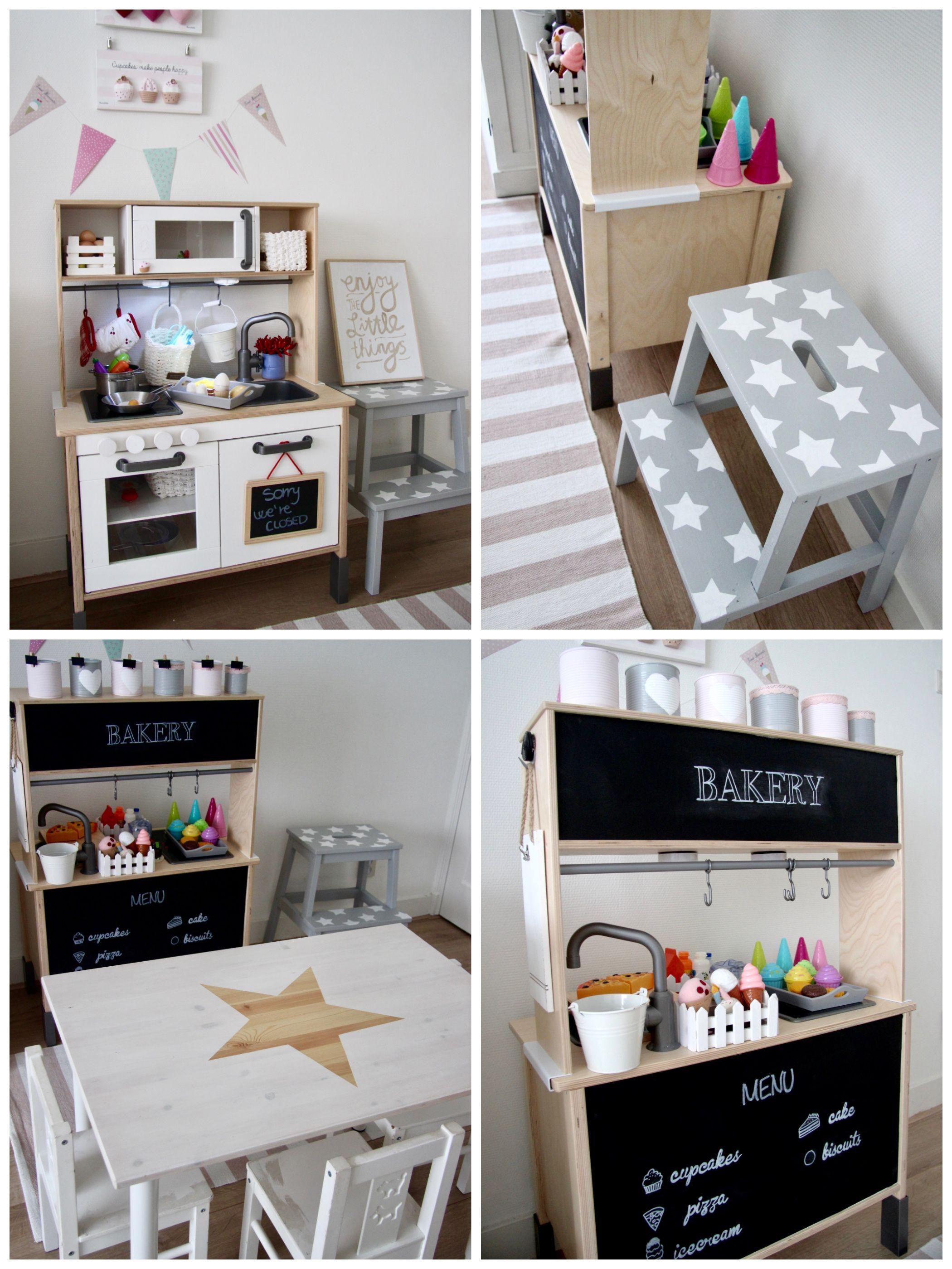 Ikea kitchen makeover...by Biancolatte decor