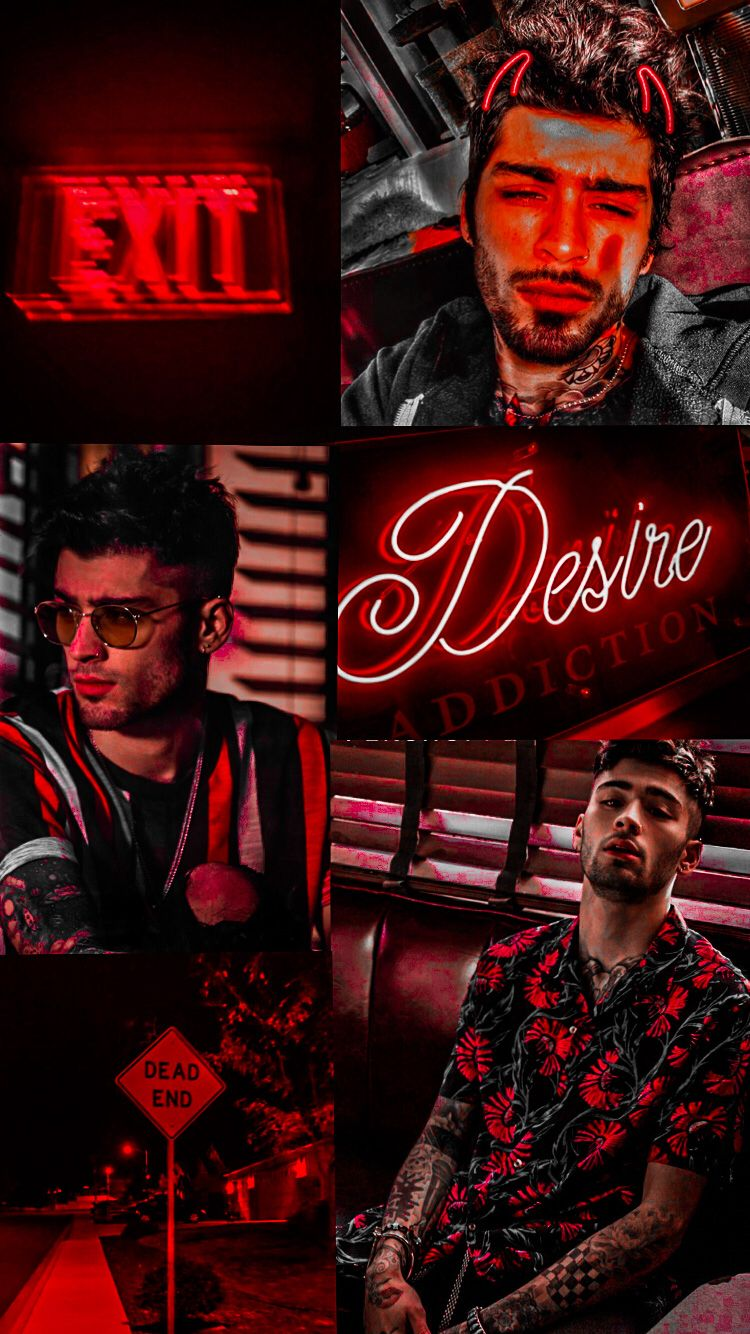 Zayn Malik Aesthetic Wallpaper Red Zayn Malik Pics Zayn Malik Photos Zayn Malik