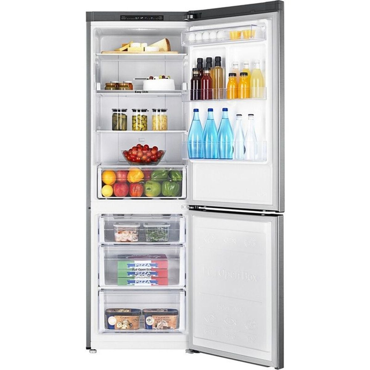 Dimension Frigo Encastrable Ikea refrigerateur congelateur en bas rb33n300nsa/ef - taille