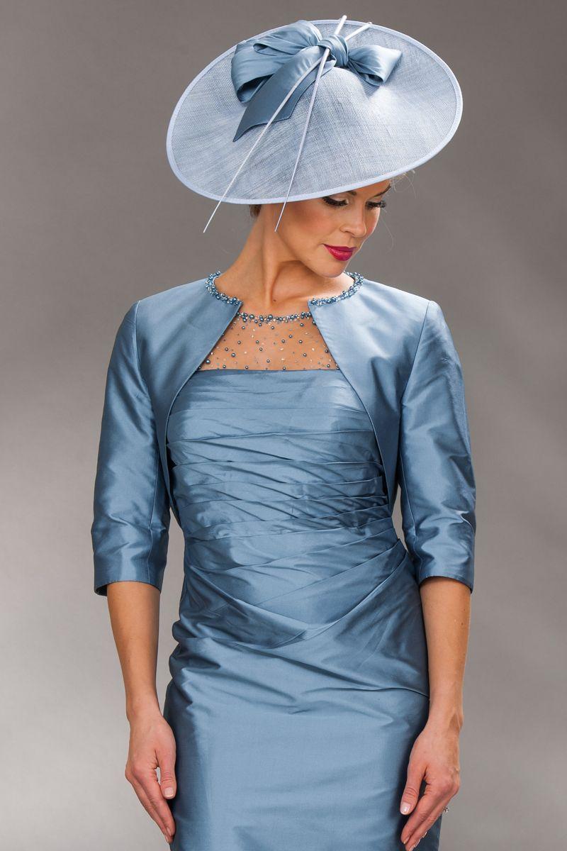 7e49c950e3 John Charles short silk dress & bolero 74190 - Catherines of Partick ...