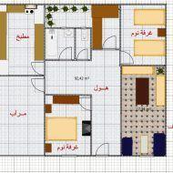 تصميم منزل جزائري بسيط House Plans Design Floor Plans