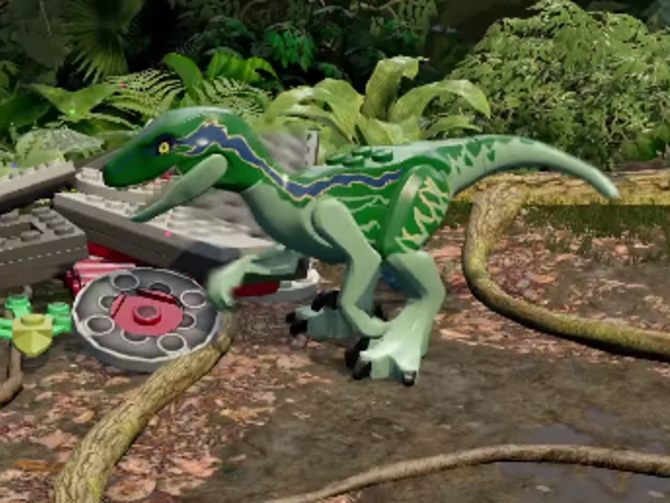 New Lego Jurassic World trailer shows off playable dinos Jurassic Park 3  #JurassicPark3