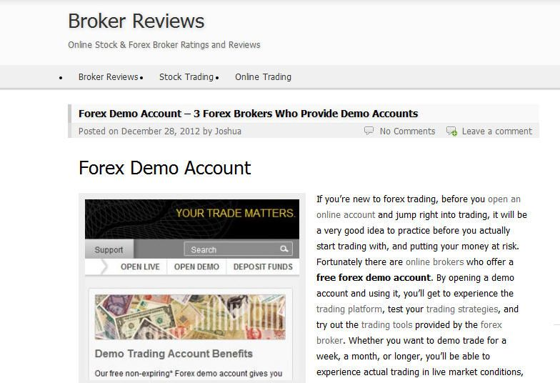 Open A Free Forex Demo Account And Practice Your Trading Skills