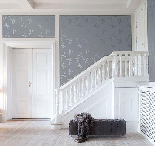 Bedroom Wallpaper Floral Two Bedroom Apartment Layout Plans Bedroom Interior Ceiling Design Bedroom Carpet Or Hardwood: Tapet Inspiration Hall - Sök På Google