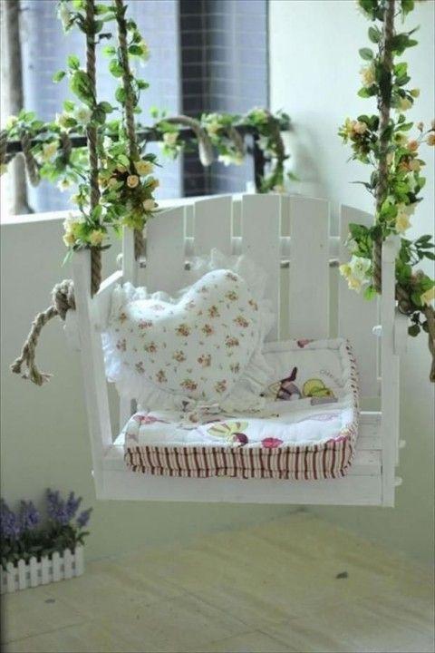 Recicla y decora con palets 29 ideas imperdibles - ̗̀ house♡ ̖́ - ideas con palets