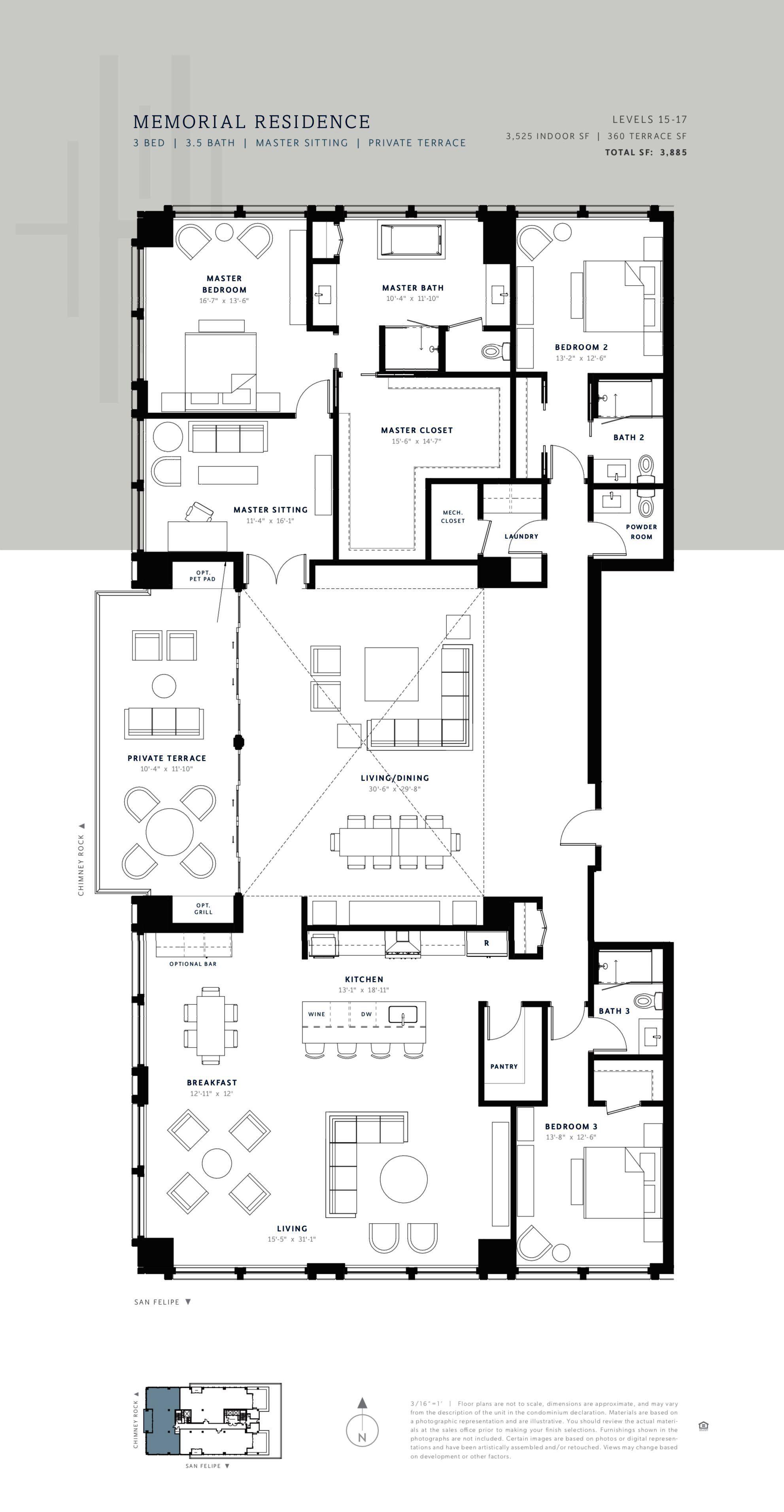 The Hawthorne Houston Condo Floor Plans Floor Plan Design Condominium Floor Plan