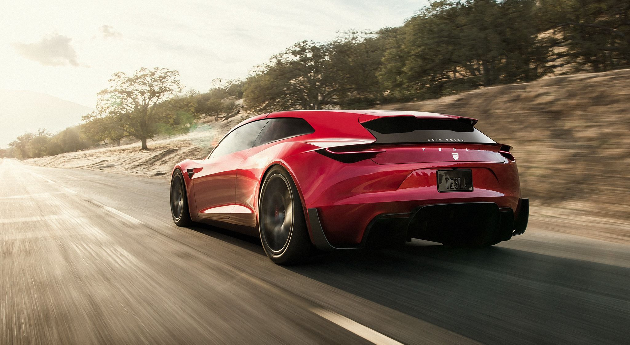 Tesla Shooting Brake Is Awesome Tesla Roadster Tesla Luxury Sports Cars