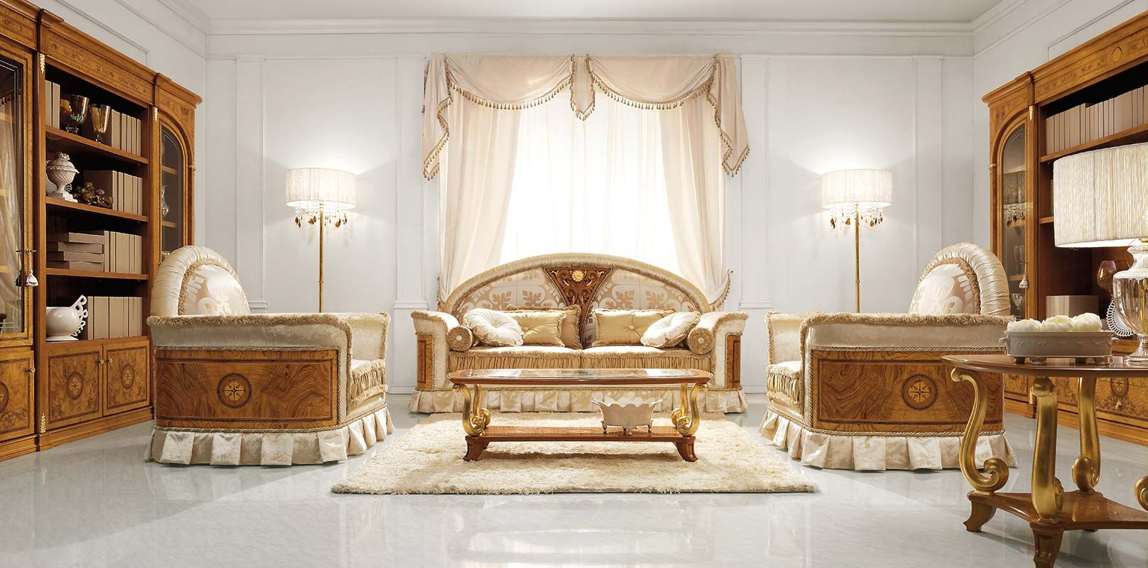 Gallery of Jasmine Collection classic furniture italian