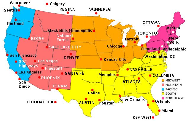 Maps of United States of America forever Pinterest