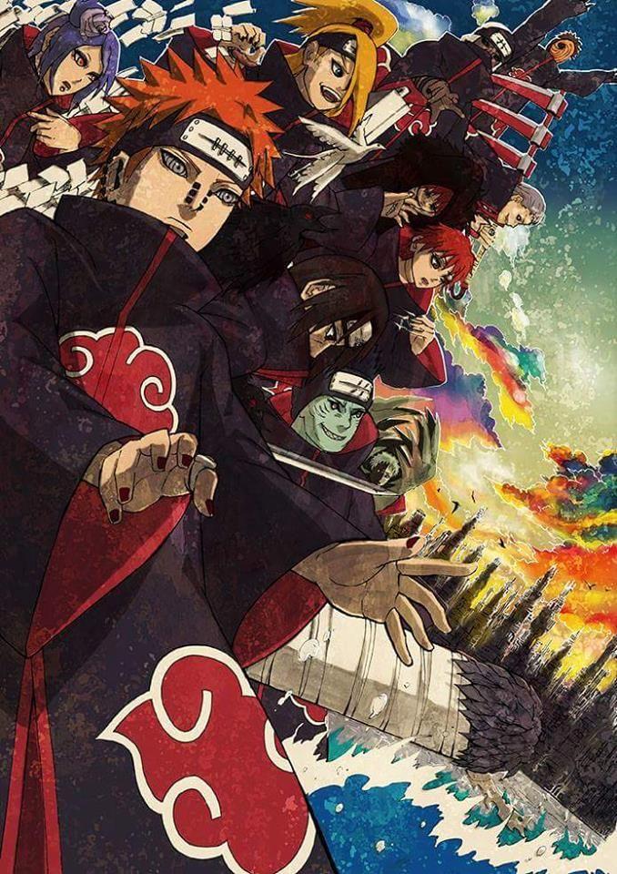 Akatsuki Naruto Shippuden Anime Anime Sasuke Akatsuki