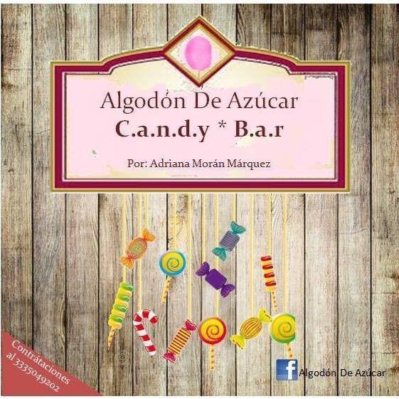 Candy*Bar Algodón De Azúcar...descubre un mundo de promociones.
