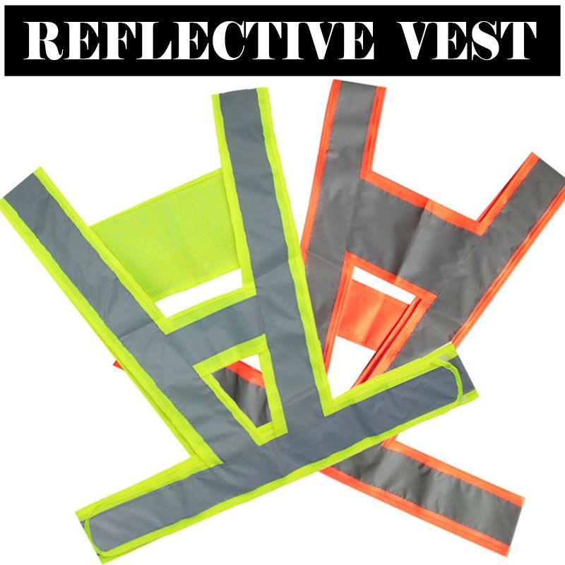 US10 Feb only! V Vest Unisex Hi Vis Viz Reflective Safety