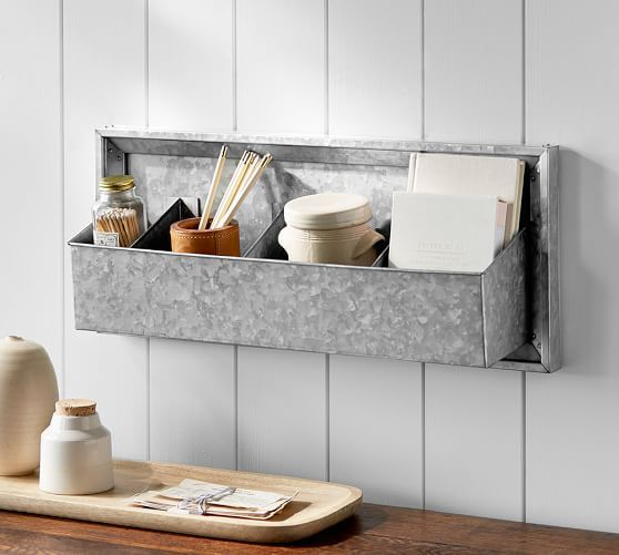 Galvanized Laundry Drying Rack Home Organization Wall Large