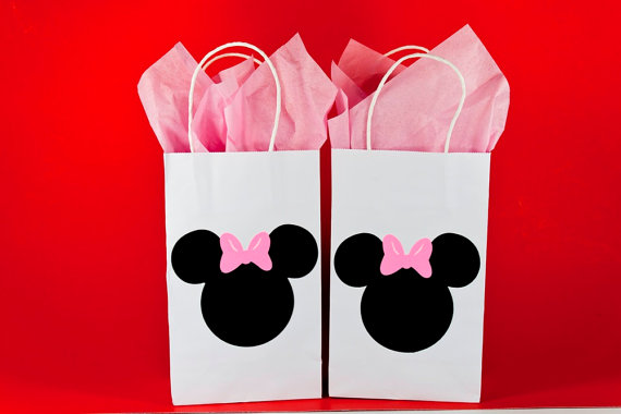 12 Minnie Mouse Party Bags Birthday