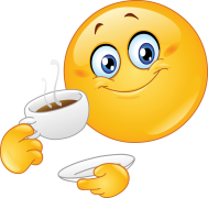 Emoticon Drinking Coffee Sticker Emoticon Smiley Emoji Smiley Bilder