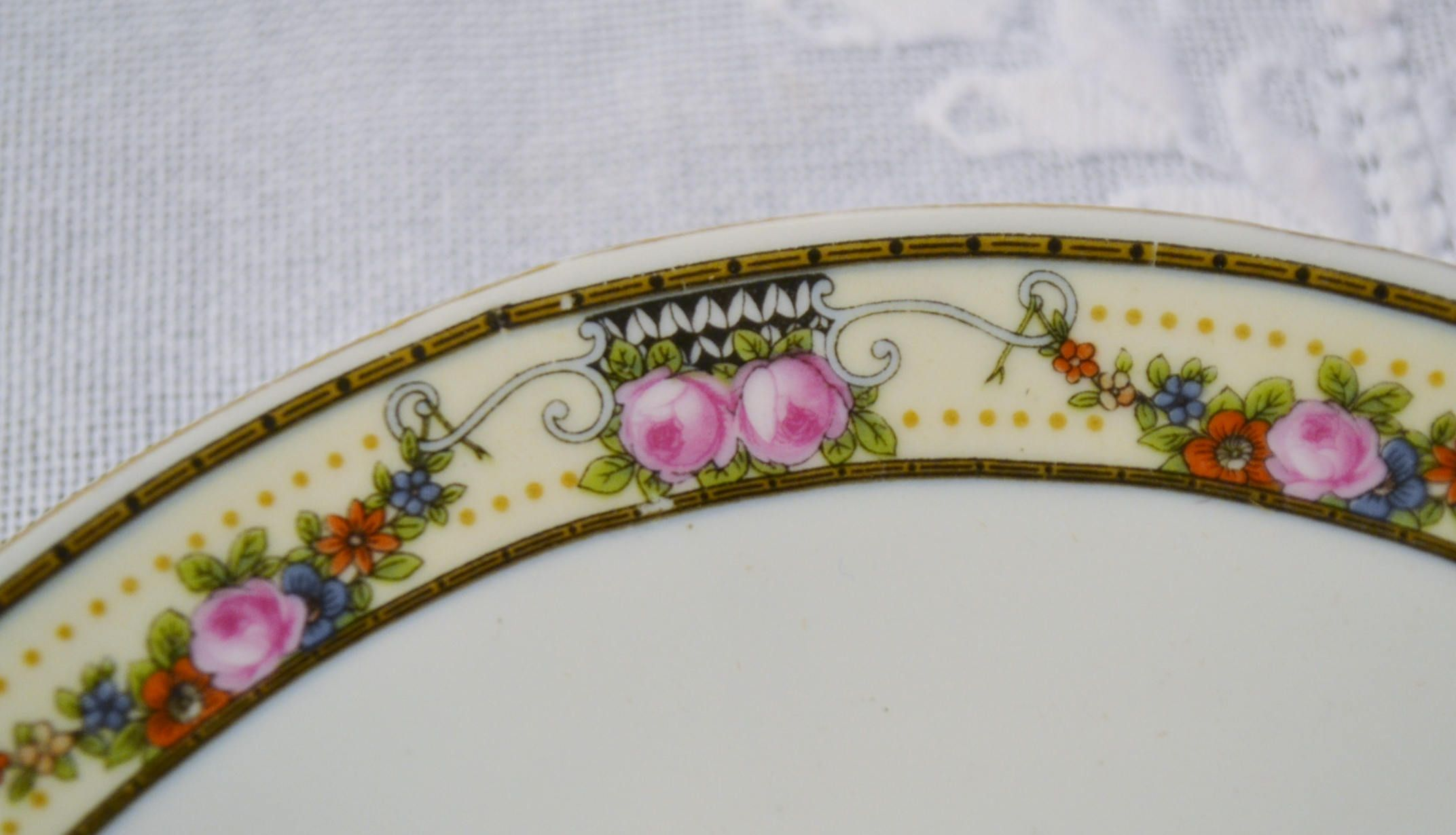 Vintage Victoria China Oval Platter Floral Pattern Czechoslovakia Replacement Victorian Style Wedding Panchosporch & Vintage Victoria China Oval Platter Floral Pattern Czechoslovakia ...