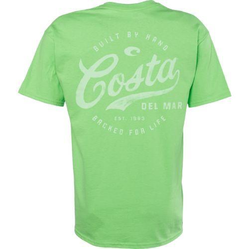 Costa Del Mar Adults' Legend T shirt (Bright Green, Size X