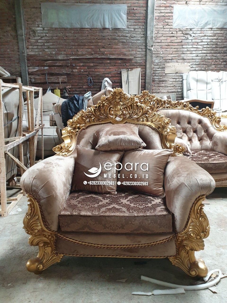 Model Kursi Tamu Jepara Sofa Kayu Jati Ukiran Mewah Furniture Jepara Terbaru 2020 Furniture Putih Kayu Jati Kursi Sofa Ruang Tamu