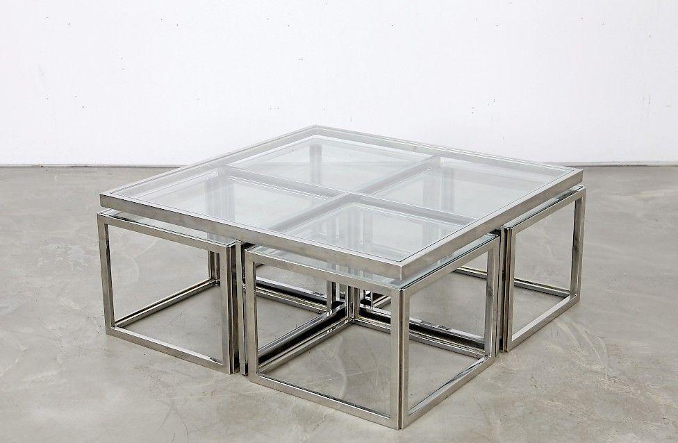 Couchtisch Chrom Glas ~ Couchtisch aus chrom und glas sideboards pinterest couchtische