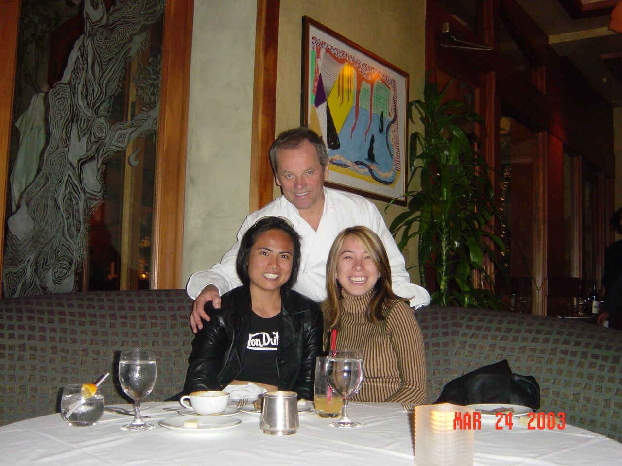 Spago with Wolfgang Puck