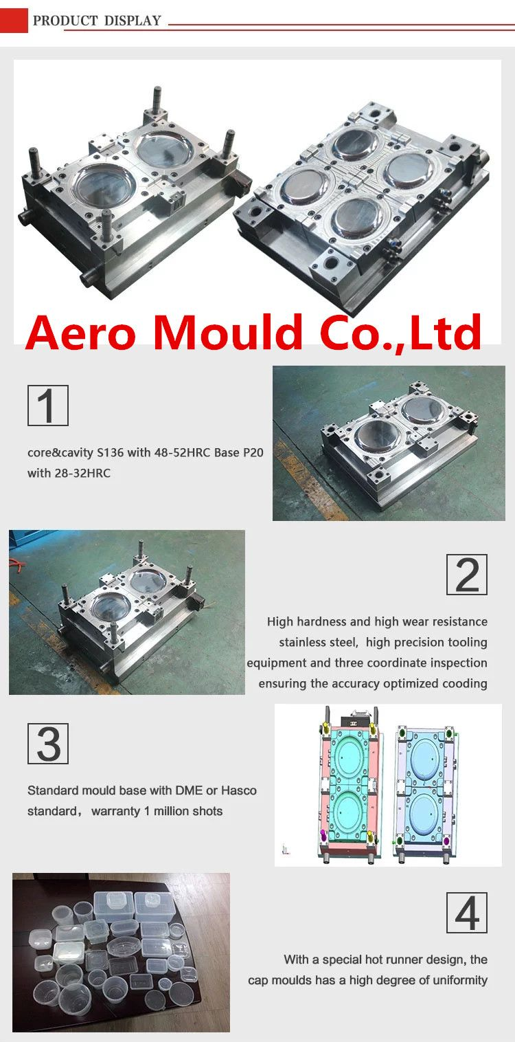 Plastic mould self-design disposable plastic tray mold can be custom