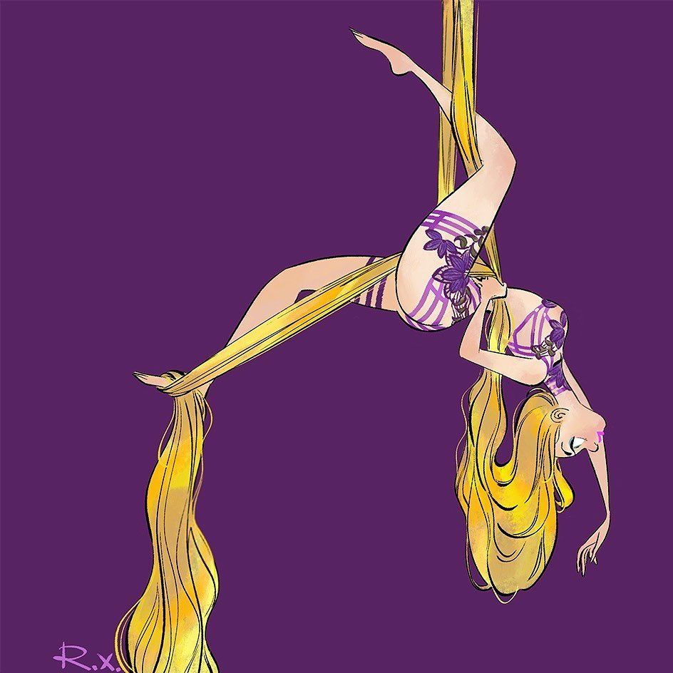 Yingzong Xin Rachel On Instagram Pole Dancing Princess Print Is Available Dm To Order Polepassion Phot In 2020 Aerial Dance Pole Dancing Dancing Drawings