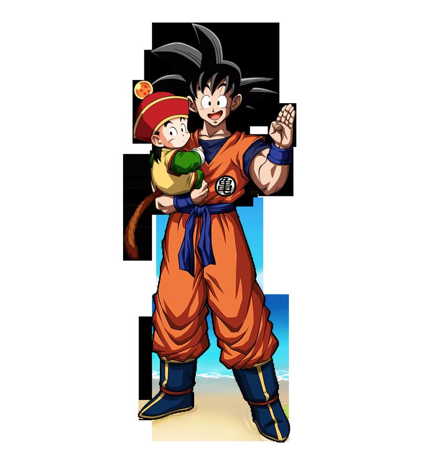 Pin On Goku Y Chichi