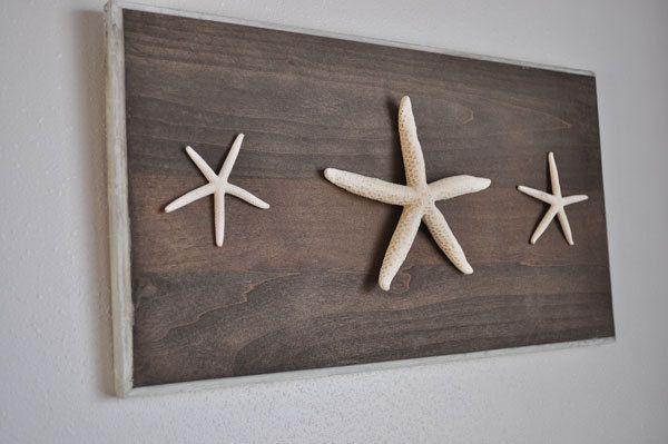 Starfish Beach Decor - Framed Starfish - Sea Art - Framed Sea Life - Starfish Decor - nautical nursery - beach decor- Beach Cottage Decor by saltyandsandy on Etsy https://www.etsy.com/listing/208671418/starfish-beach-decor-framed-starfish-sea