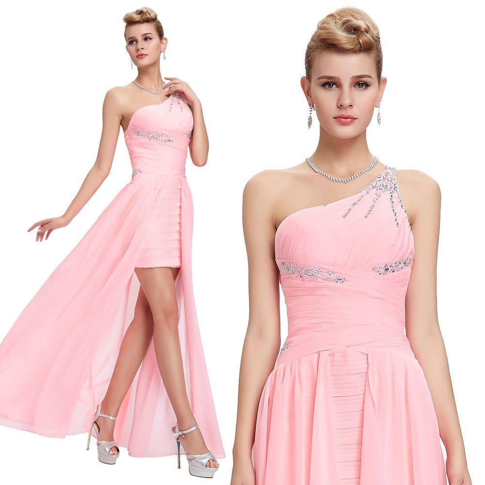 Dress for wedding evening party  Womens Long Chiffon Celebrity Wedding Bridesmaid Evening Party Maxi