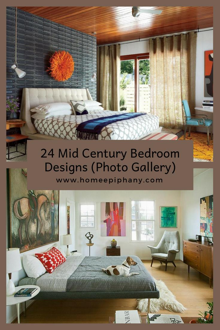24 Beautiful Mid Century Bedroom Designs Mid Century Bedroom