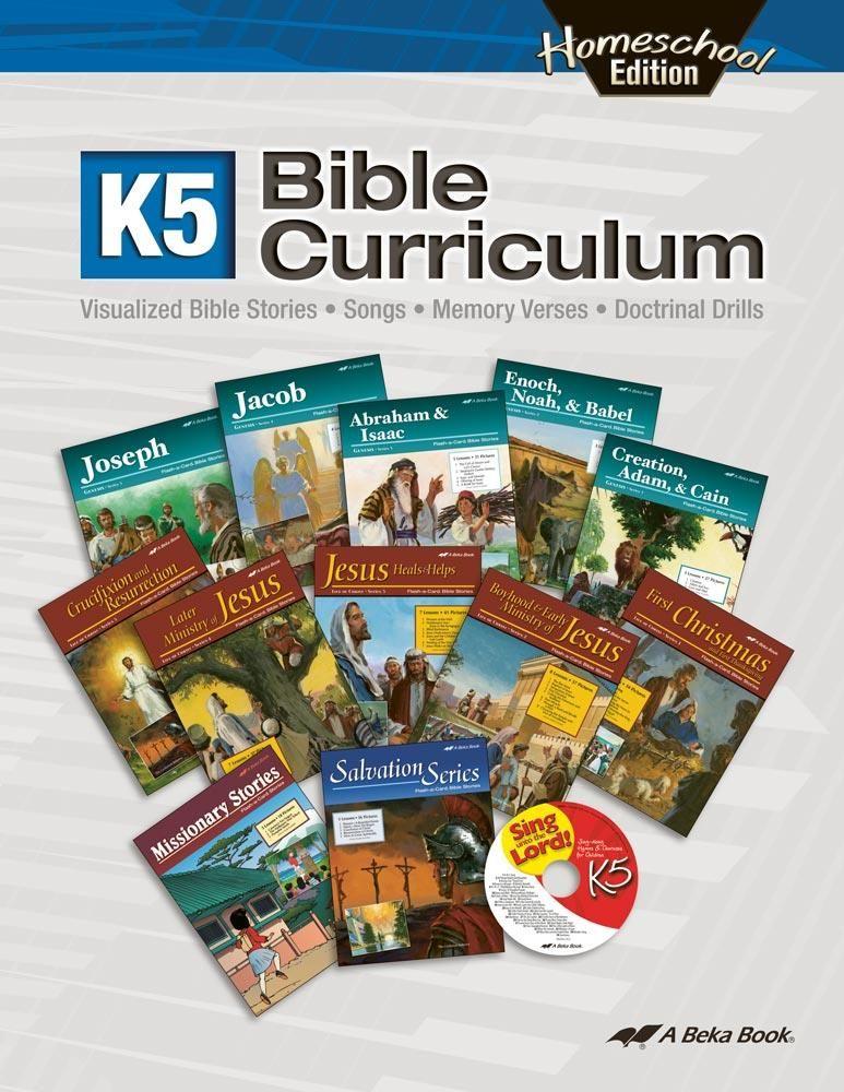 Homeschool K5 Bible Curriculum