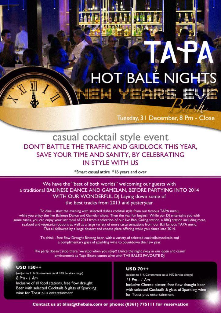 TAPA HOT Bale Nights