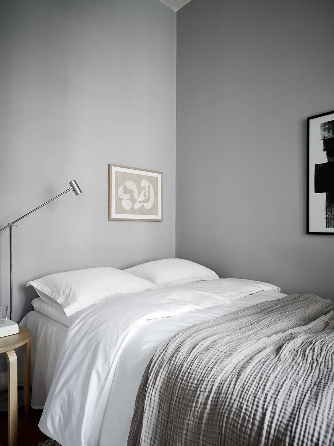 Awesome Grey Tone Apartment From The 1920S Bedroom Bedroom Decor Interior Design Ideas Gentotryabchikinfo