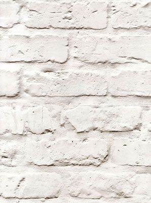 Splendour Galerie Wallpaper A Realistic Off White Brick Effect Homedecor