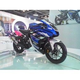 Quarter Litre Yamaha R25 Showcases At The Auto Expo With Images