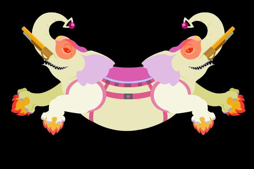 Adventure time ancient tandem psychic war elephant \u003c3