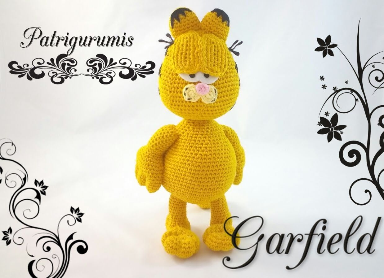 gratis free:Amigurumi Garfield!! En este video os traigo un patrón ...